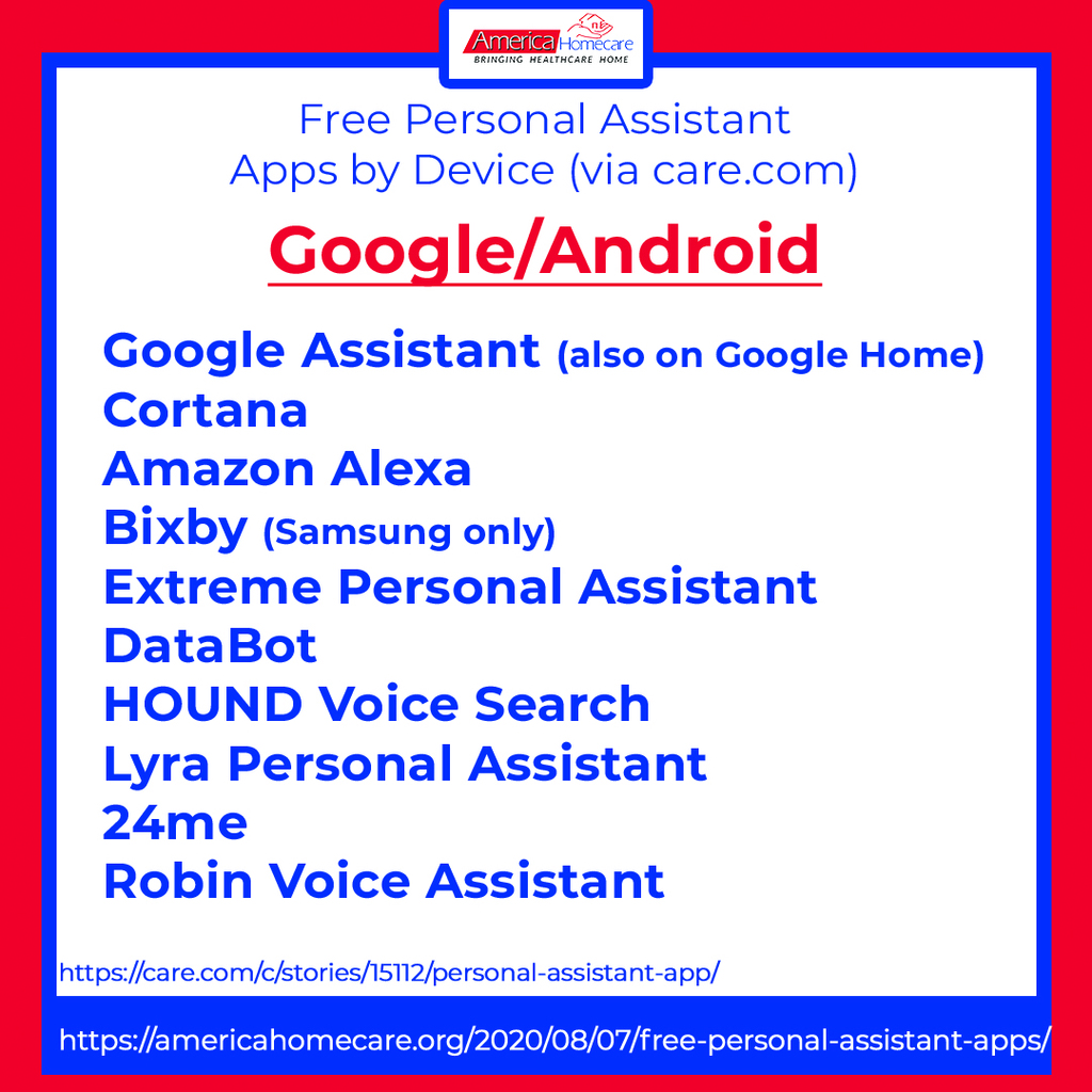 free android personal assistant apps