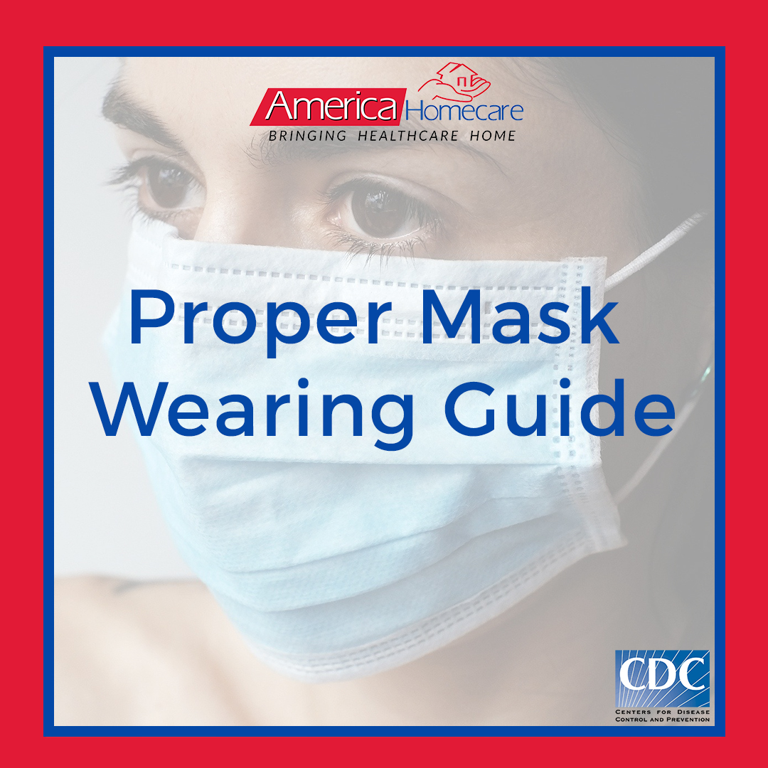 Proper Mask Wearing Guide | America Homecare