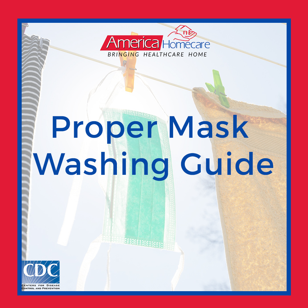 How to Wash Reusable Face Masks | America Homecare